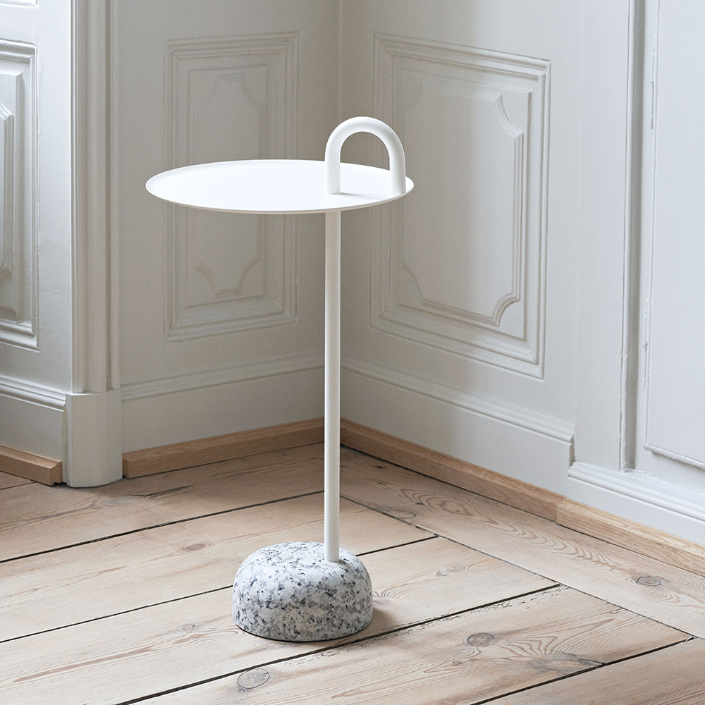 Hay Bowler Side Table.Bowler Side Table Cream White