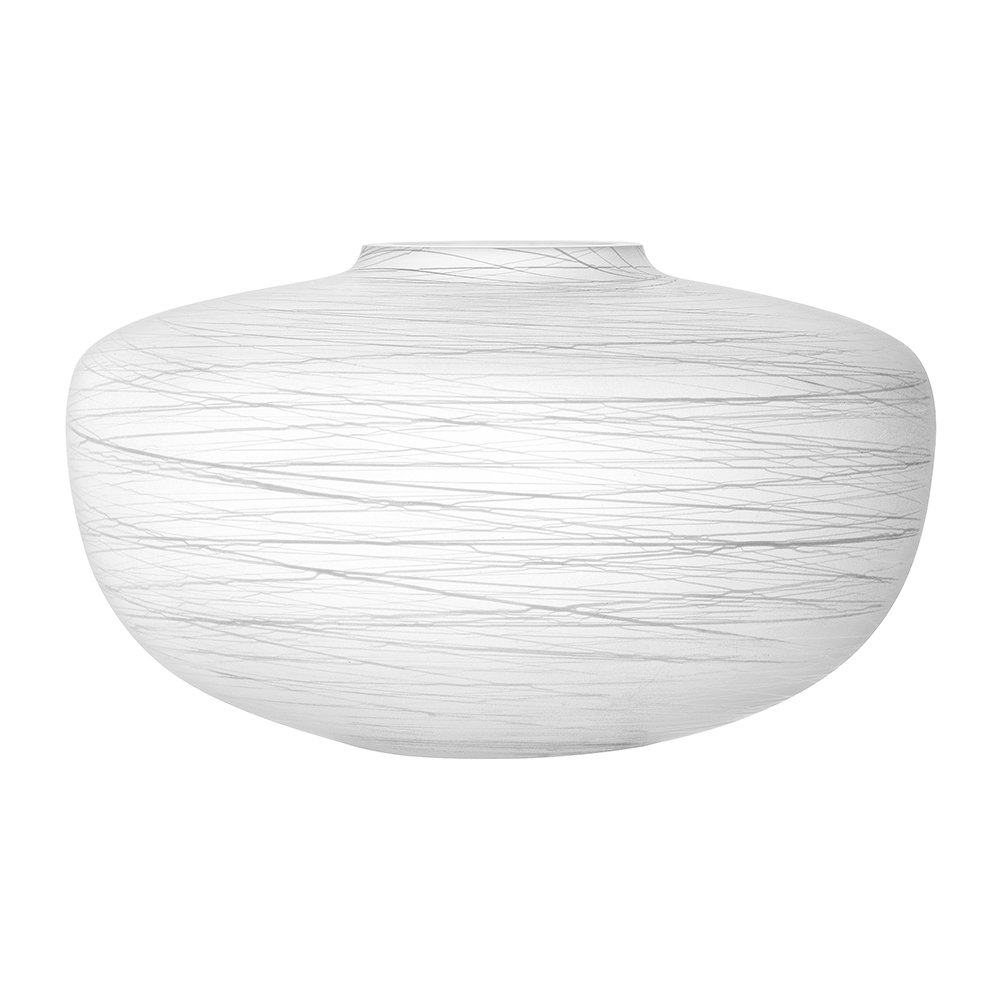 LSA International - Boulder Vase - Chalk Thread - 17.5cm