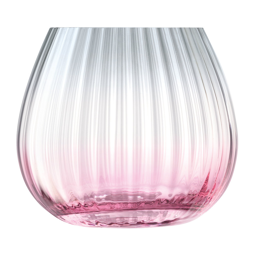 LSA International - Dusk Lantern/Vase - Pink/Grey