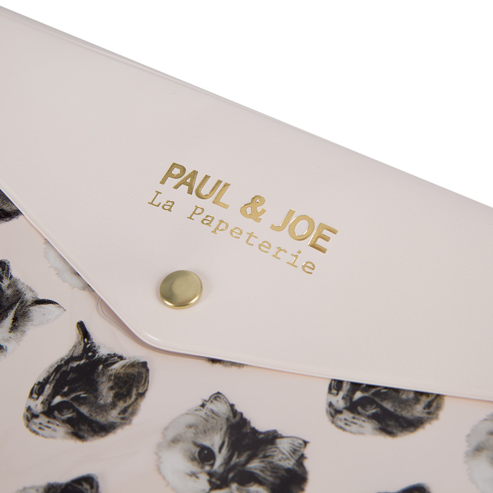 Paul & Joe - Trousse de Papeterie A5 - Chat Chat Chat