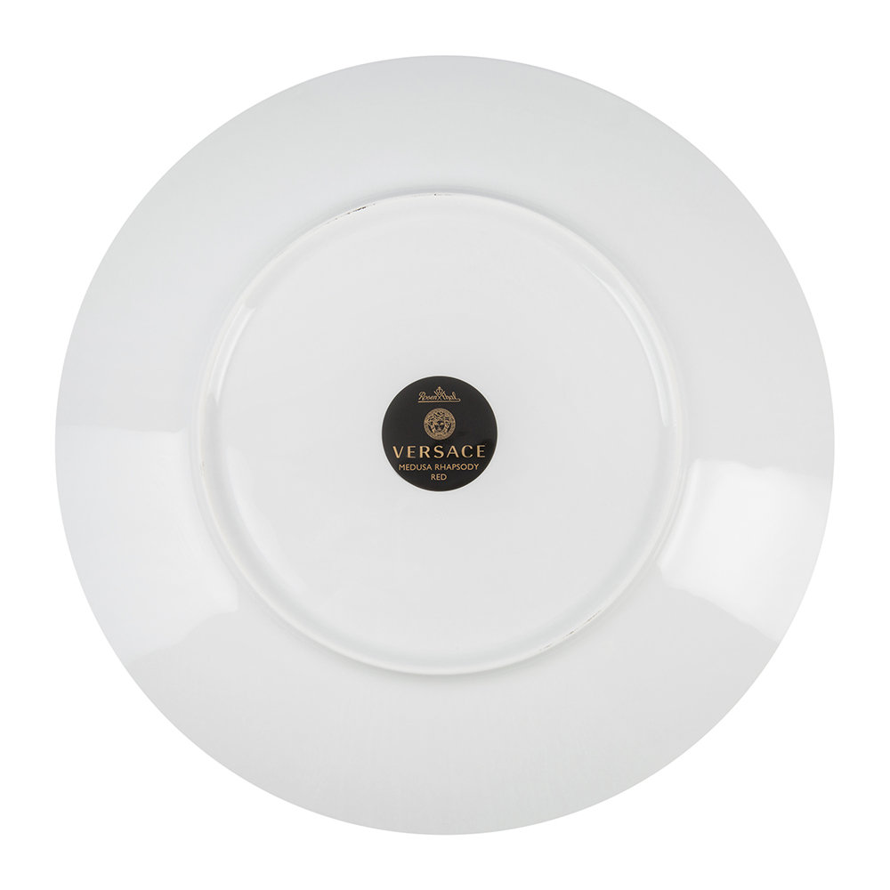 Versace Home - Medusa Rhapsody Charger Plate - Red