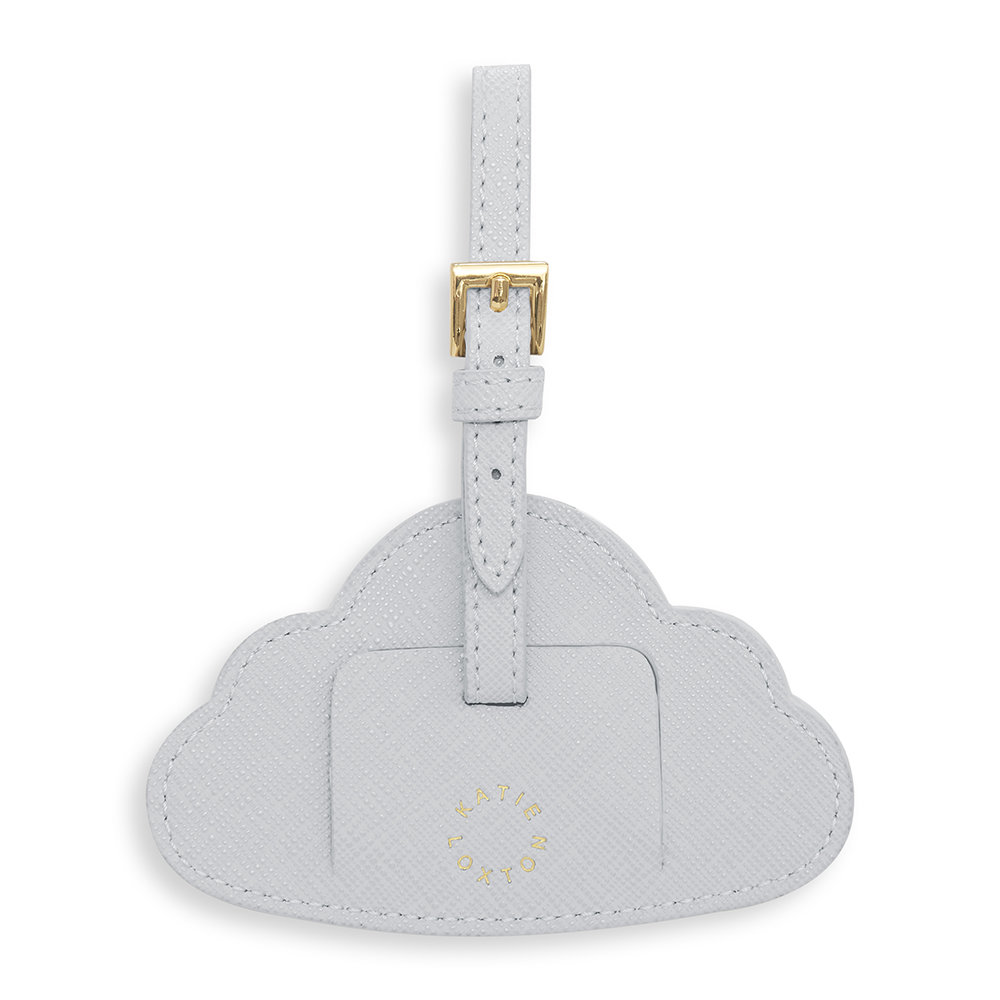 Katie Loxton - Baby Luggage Tag - Little Adventures - Pale Grey
