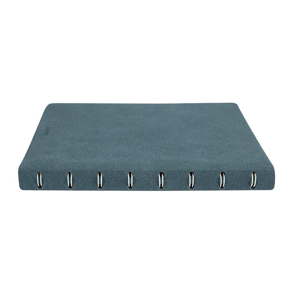 Filofax - A5 Architexture Notebook - Blue Suede