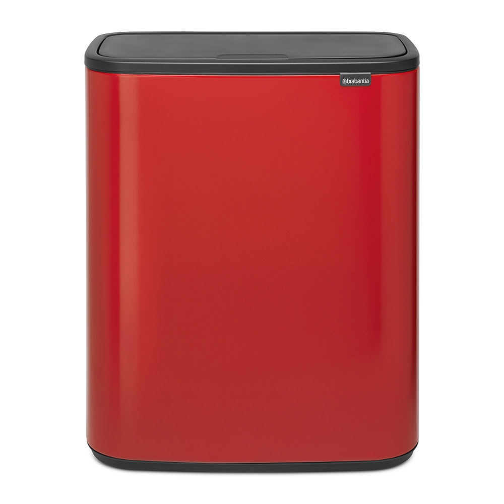 Brabantia - Bo Touch Bin - 2 x 30 Litre - Passion Red
