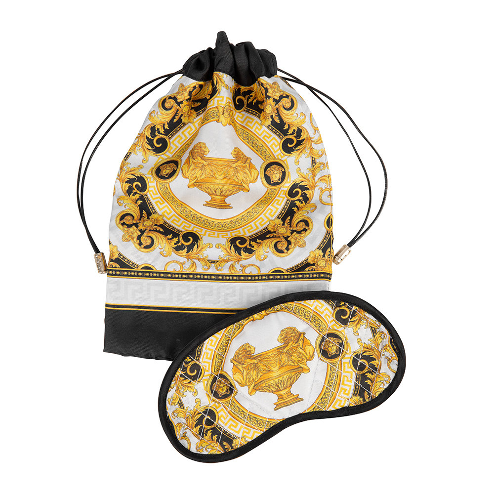Versace Home - La Coupe Des Dieux Fabric Night Mask - Grey/White/Gold