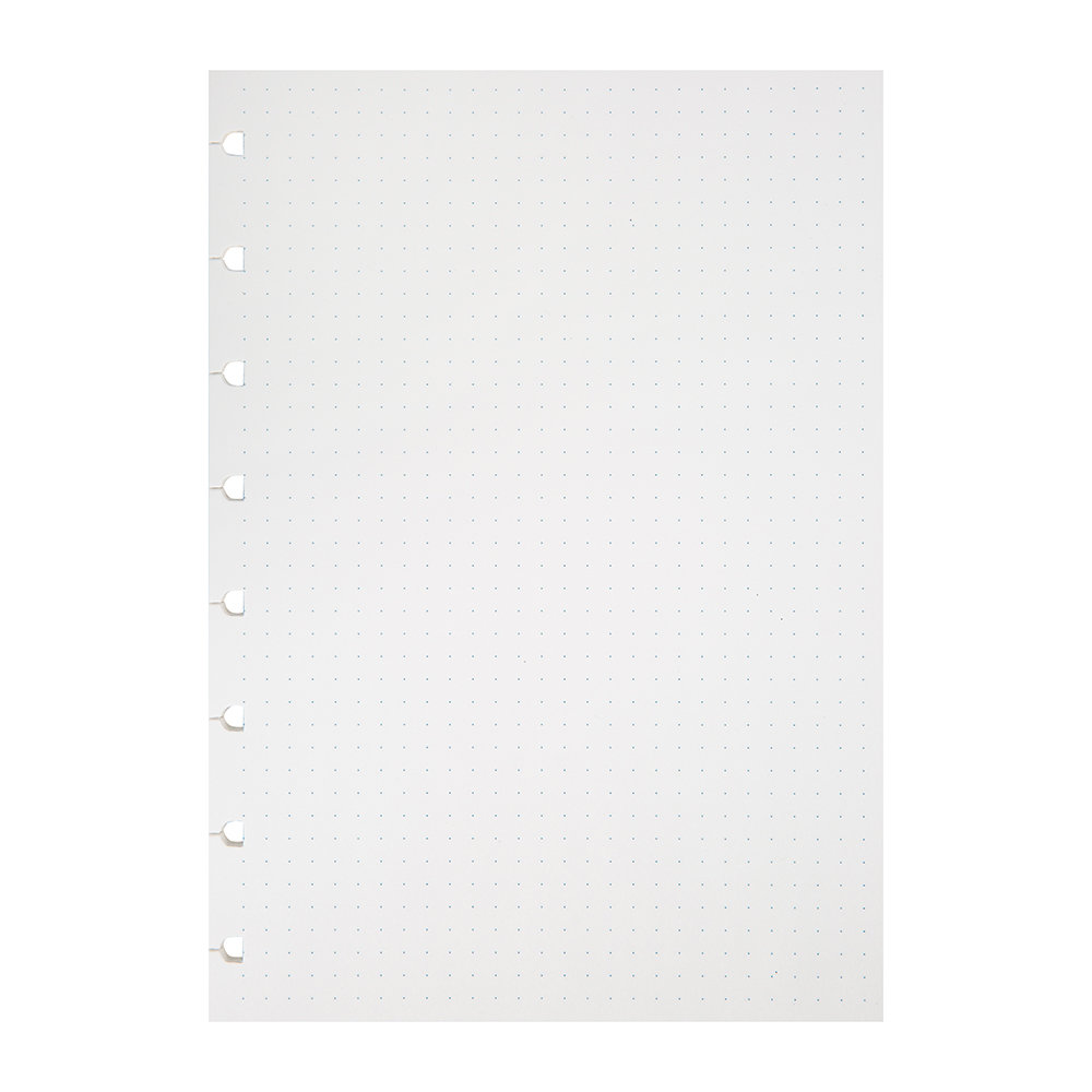 Filofax - A5 Notebook Refill Paper - Dotted