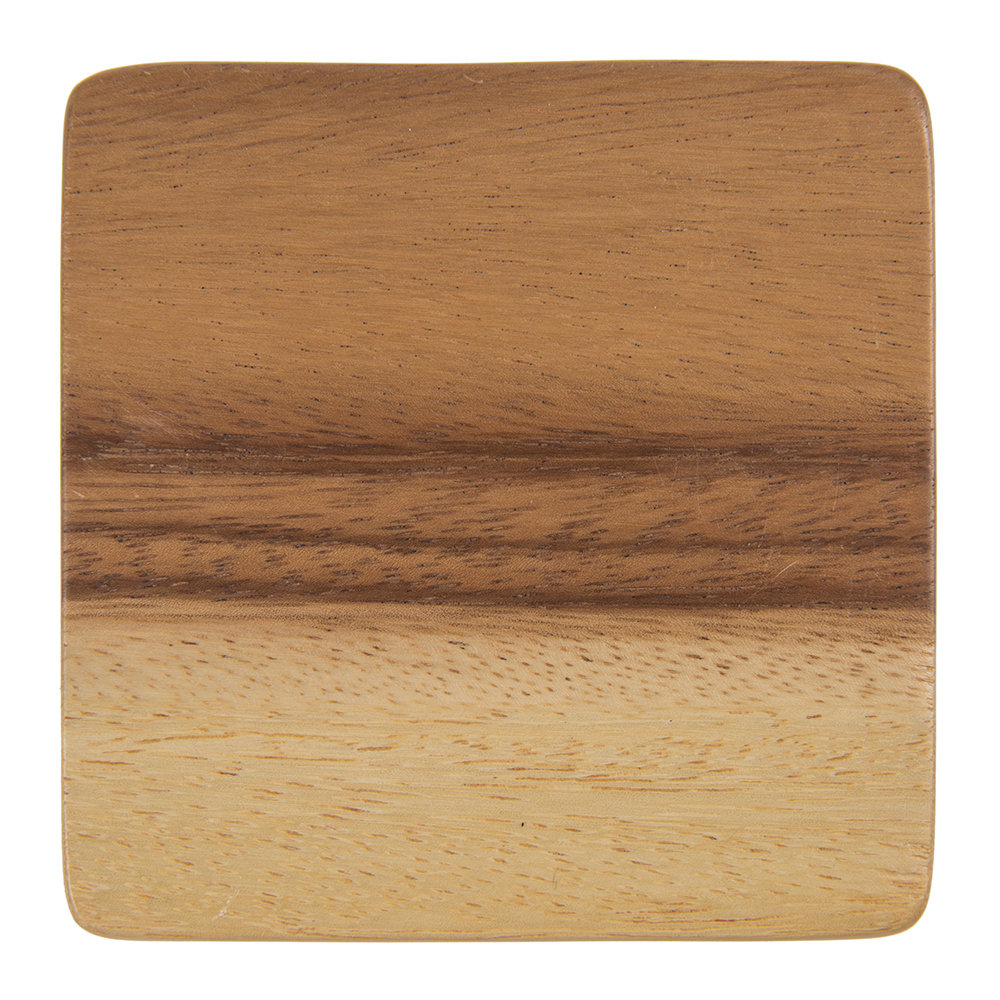A by AMARA - Acacia Wood Coaster - Set of 4