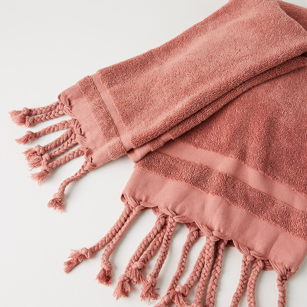 Anthropologie Home - Serviette Orge - Ocre - Serviette de bain