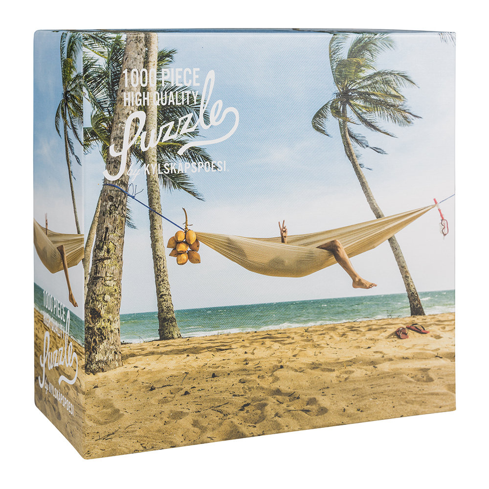 Hygge Games - Beach Hammock Puzzle