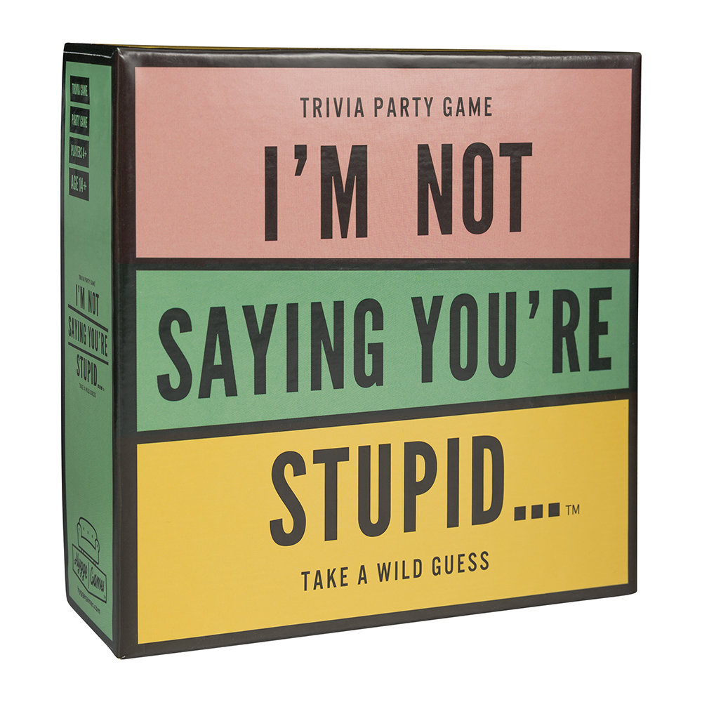 Hygge Games - I'm Not Saying You're Stupid Game