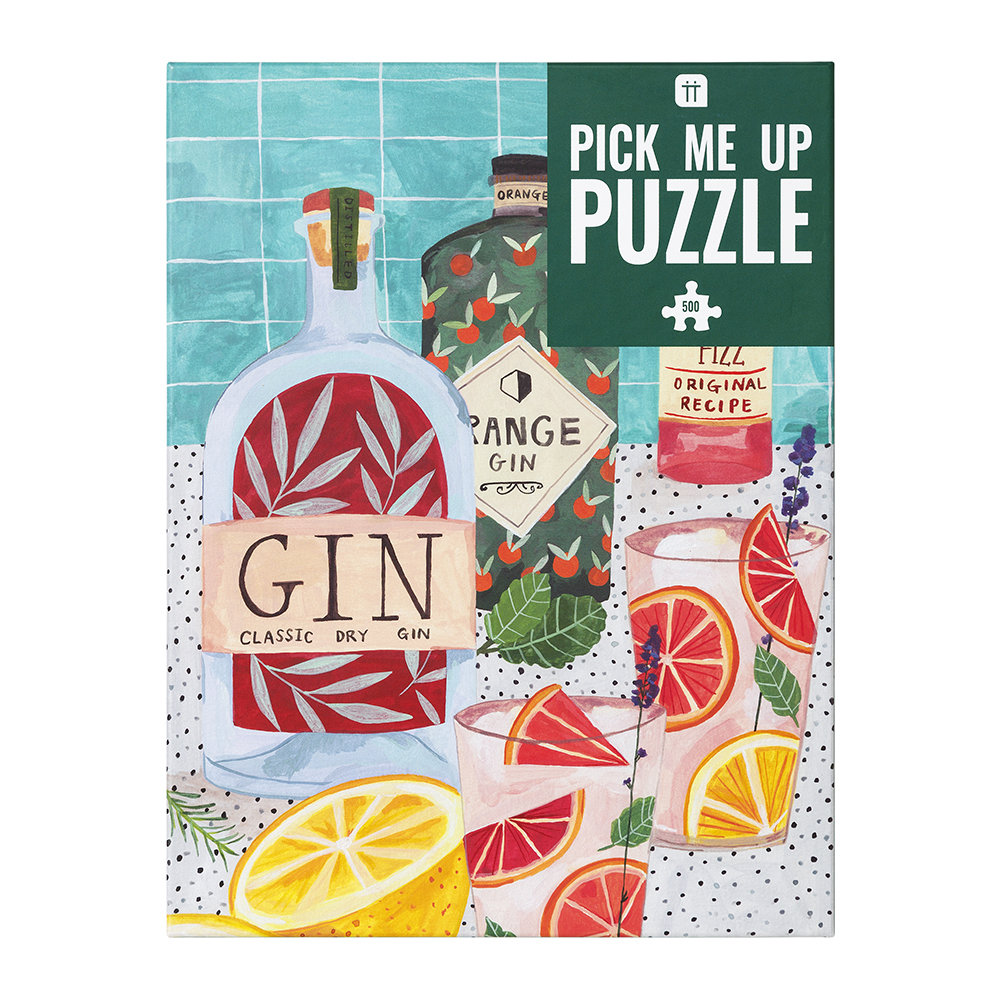 Talking Tables - 500 Piece Jigsaw Puzzle - Gin