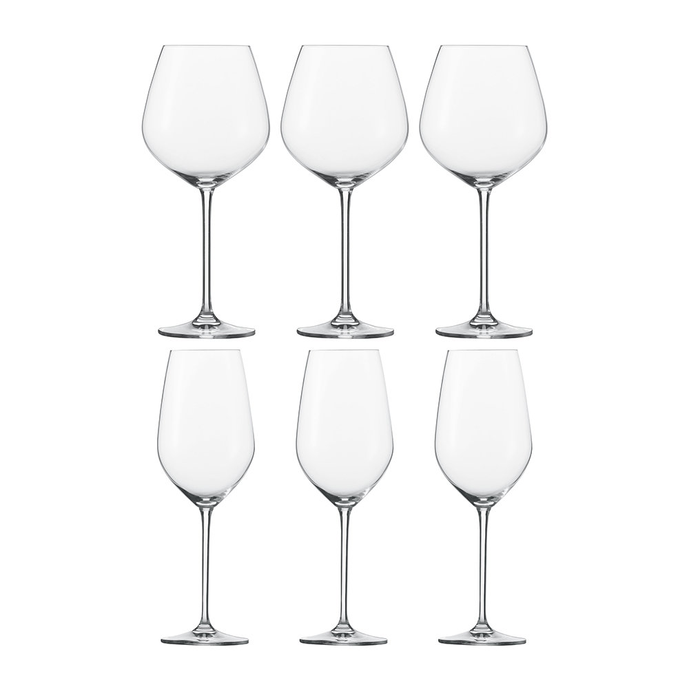 Schott Zwiesel - Fortissimo burgundy Red Wine Glasses - Set of 6