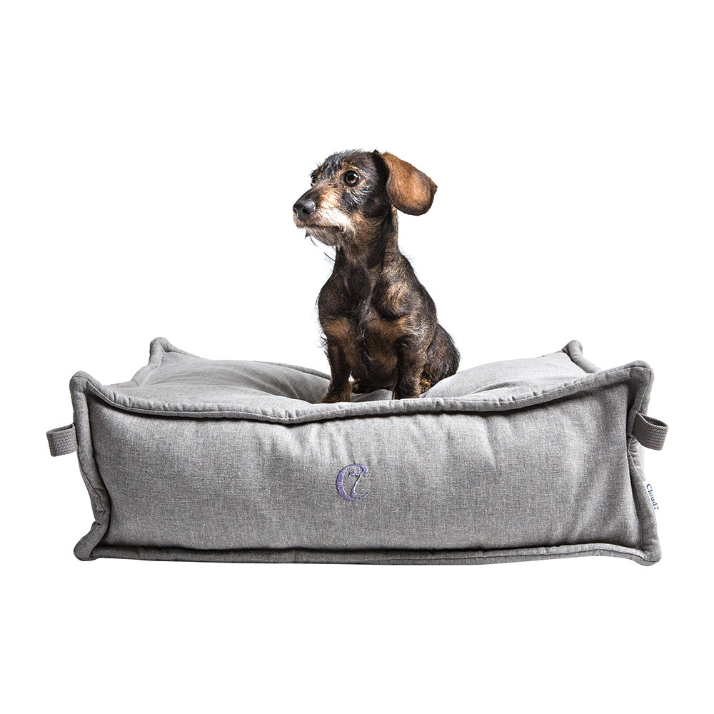 Cloud 7 - Cozy Dog Bed - Light Grey - Small