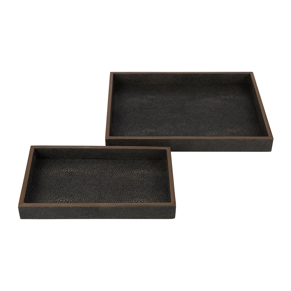 Pigeon & Poodle - Manchester Tray Set - Mushroom