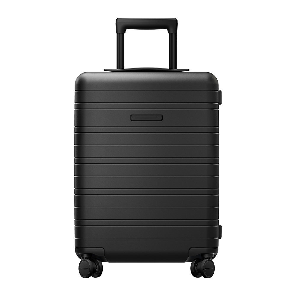 Horizn Studios - Essential Hard Shell Cabin Suitcase - All Black - Cabin