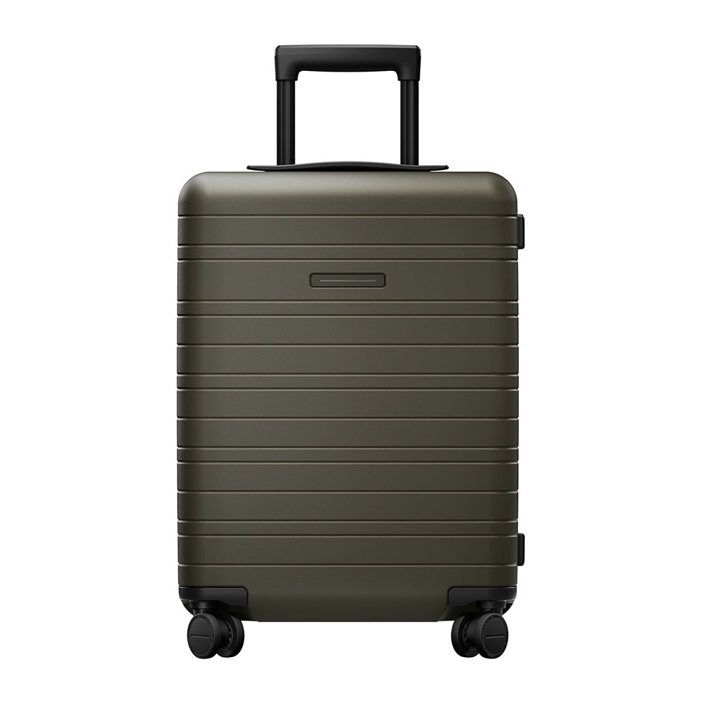 Horizn Studios - Essential Hard Shell Cabin Suitcase - Dark Olive