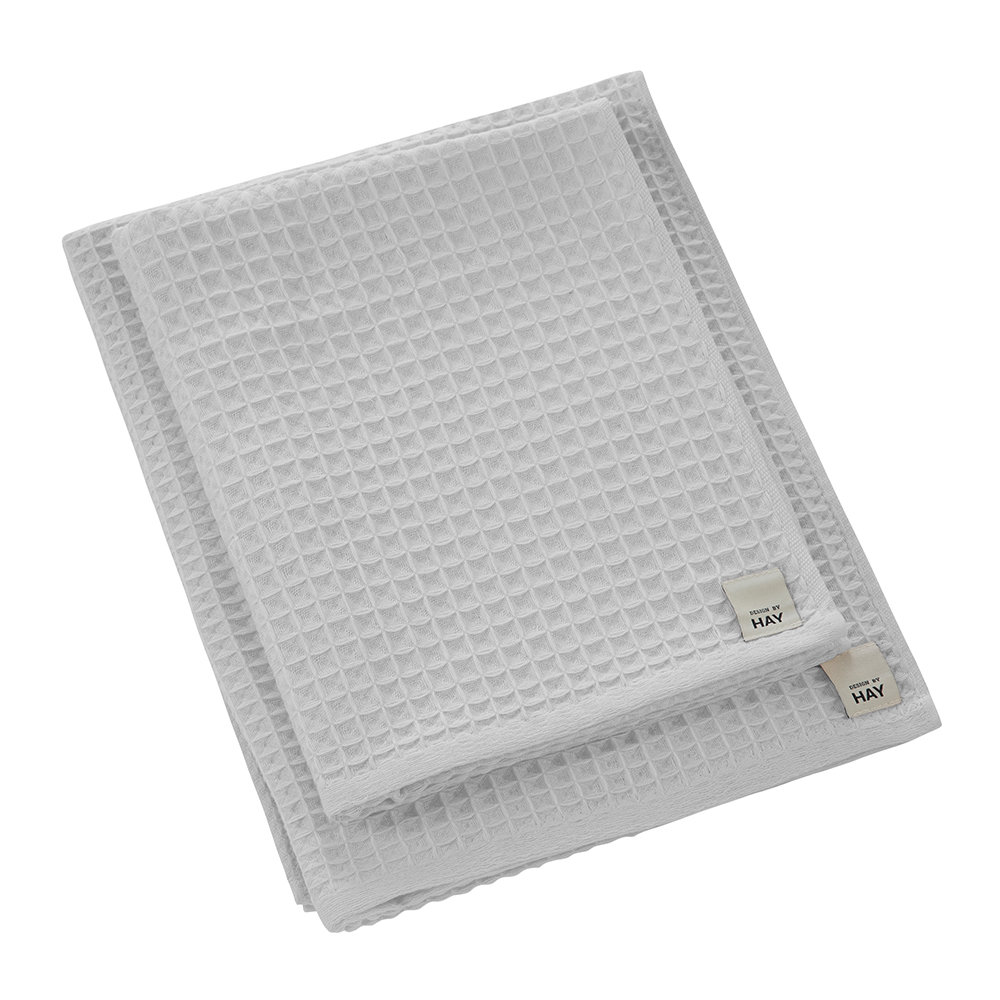 HAY - Giant Waffle Towel - Gray - Guest