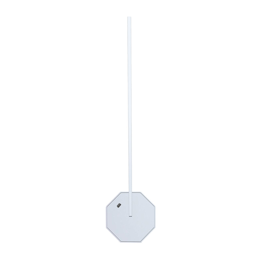 Gingko - Octagon One Rechargeable Desk Light - White