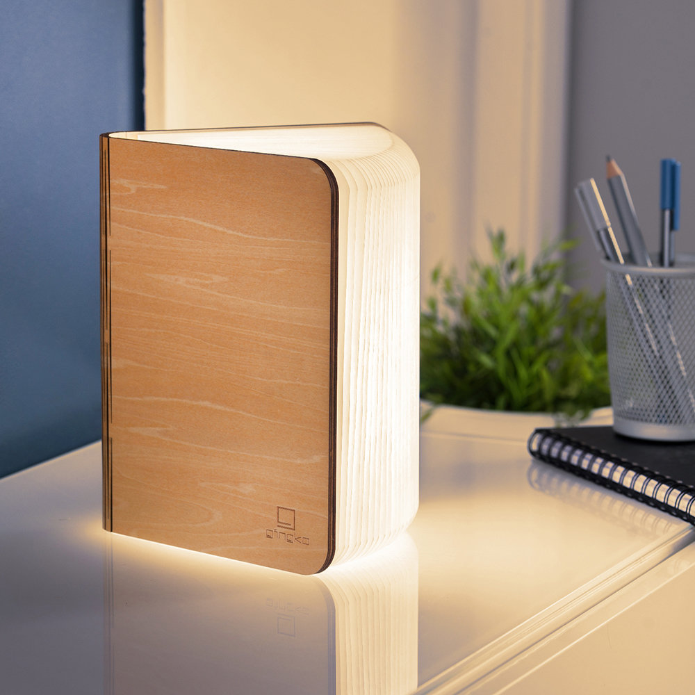Gingko - Smart Book Light - Maple - Large