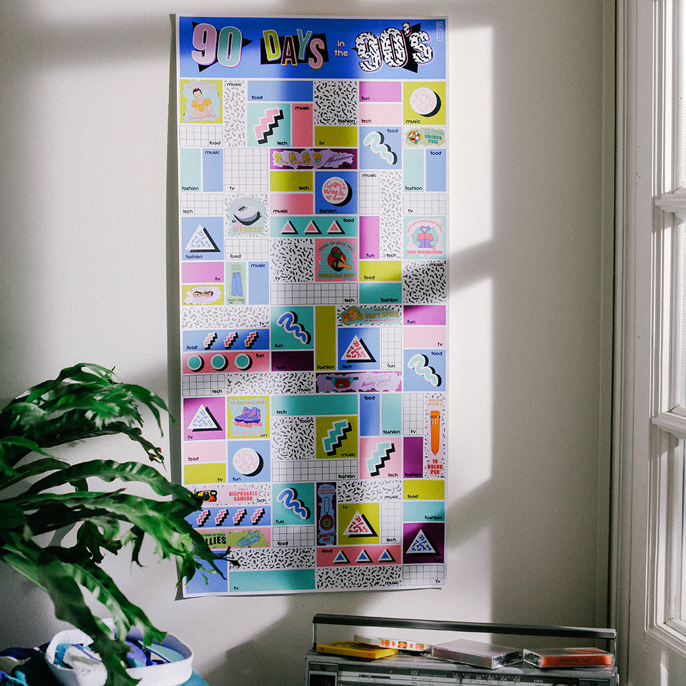 DOIY - 90 Days in the 90's Poster