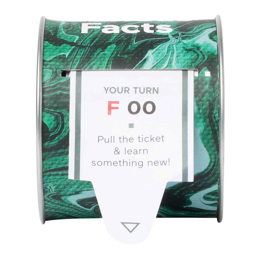 DOIY - 100 Facts Ticket Box - Facts