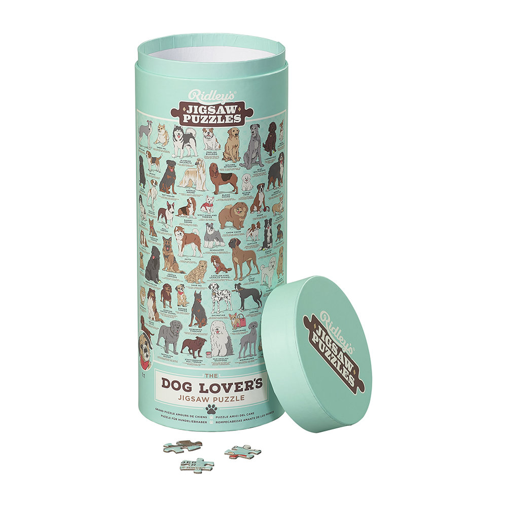 Ridley's Games Room - Dog Lovers Jigsaw Puzzle - 1000 Piece