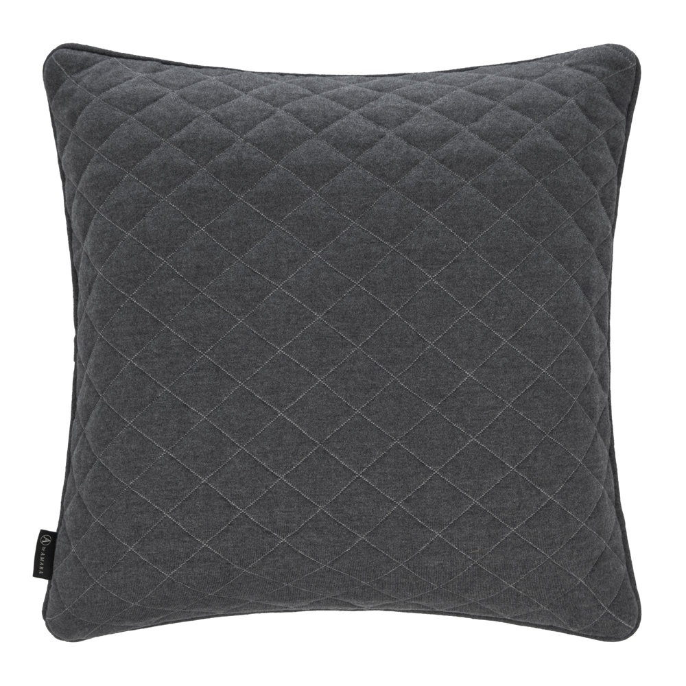 Luxe - Diamond Quilted Reversible Pillow - 50x50cm - Gray