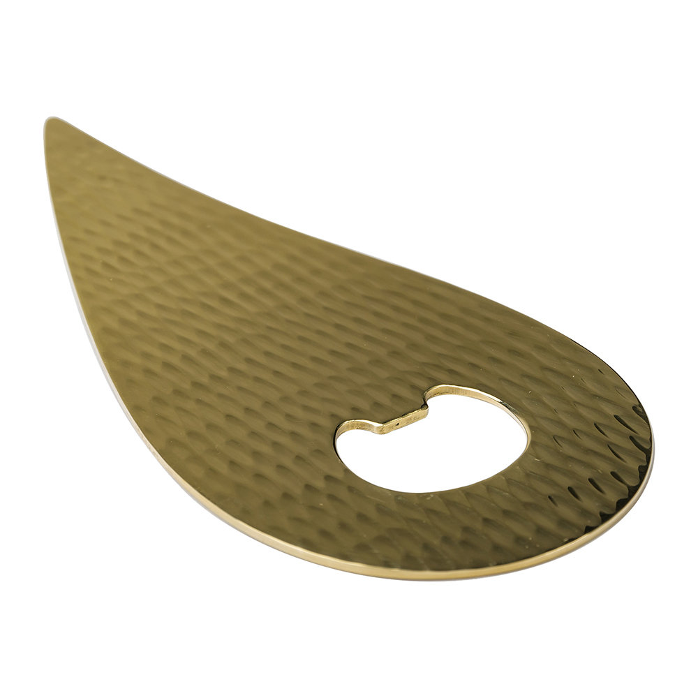 Zanetto - Drop Bottle Opener - Brass