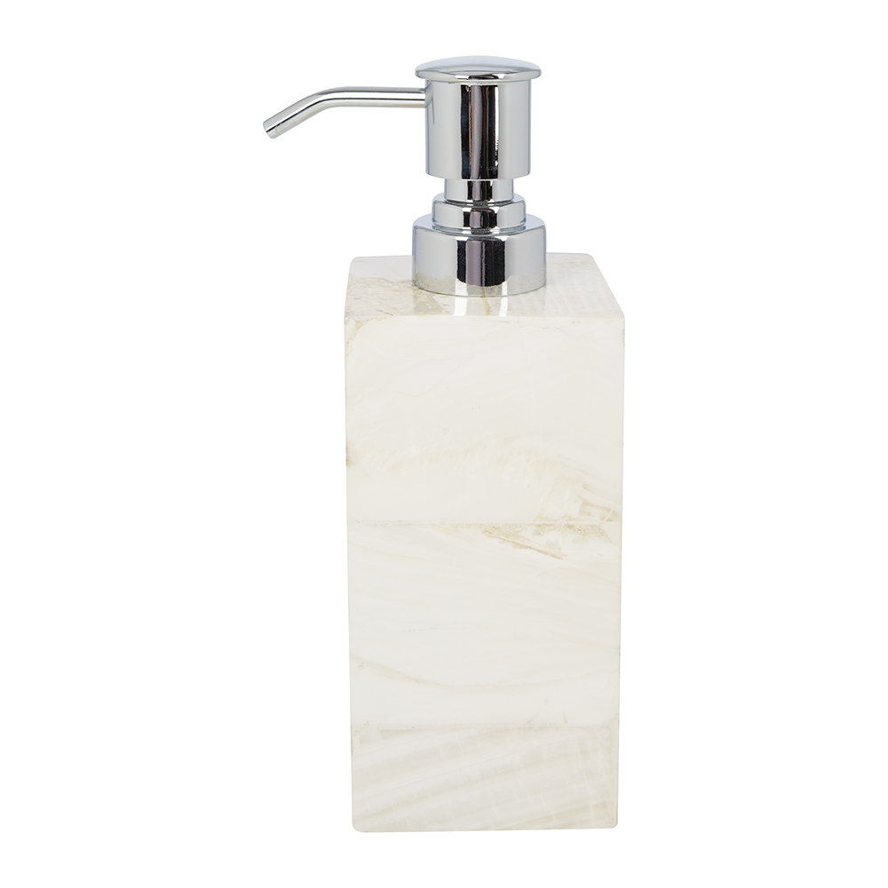 Pigeon & Poodle - Palermo Soap Dispenser - Clamstone