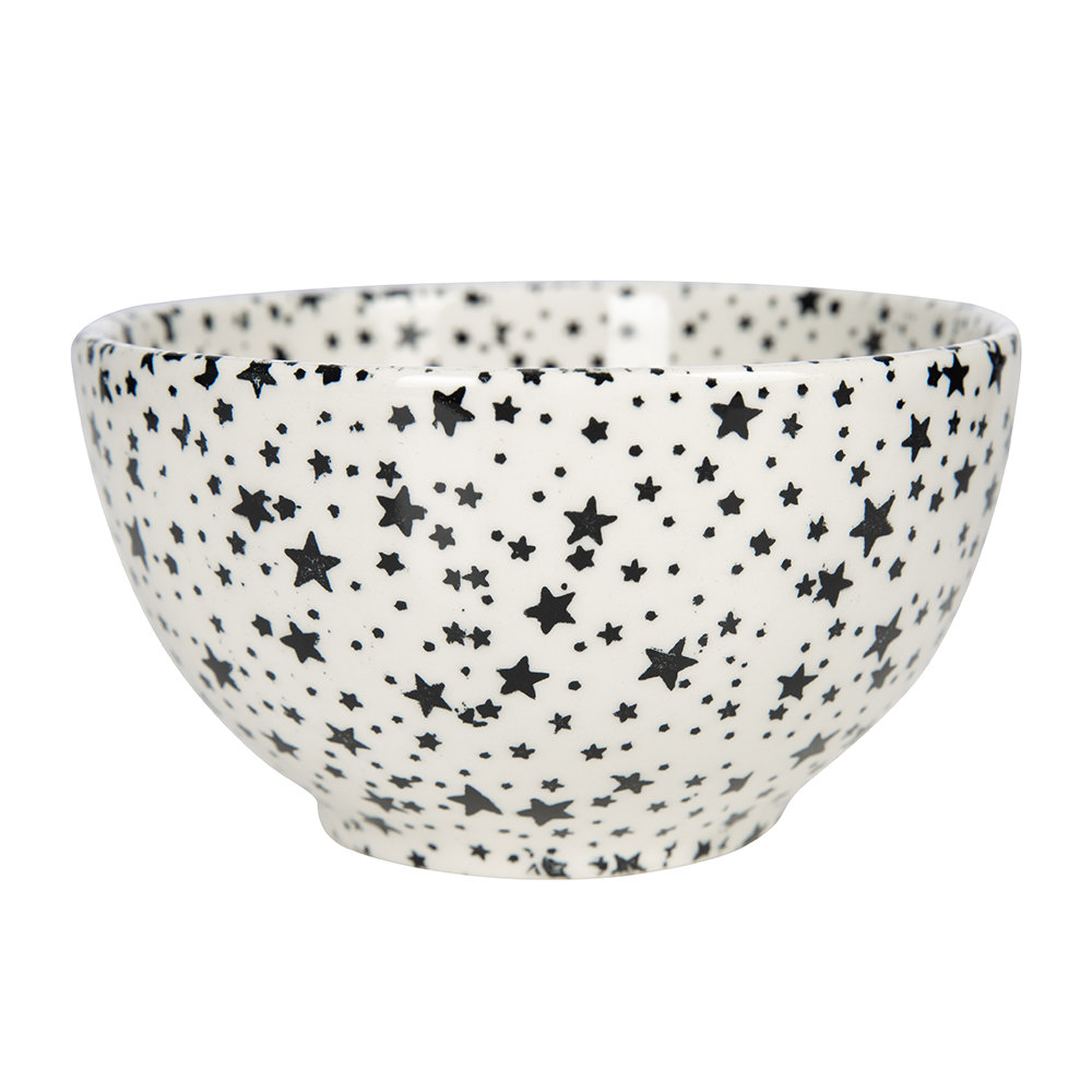 Ralph Lauren Home - Midnight Sky Dessert Bowl - Light Black