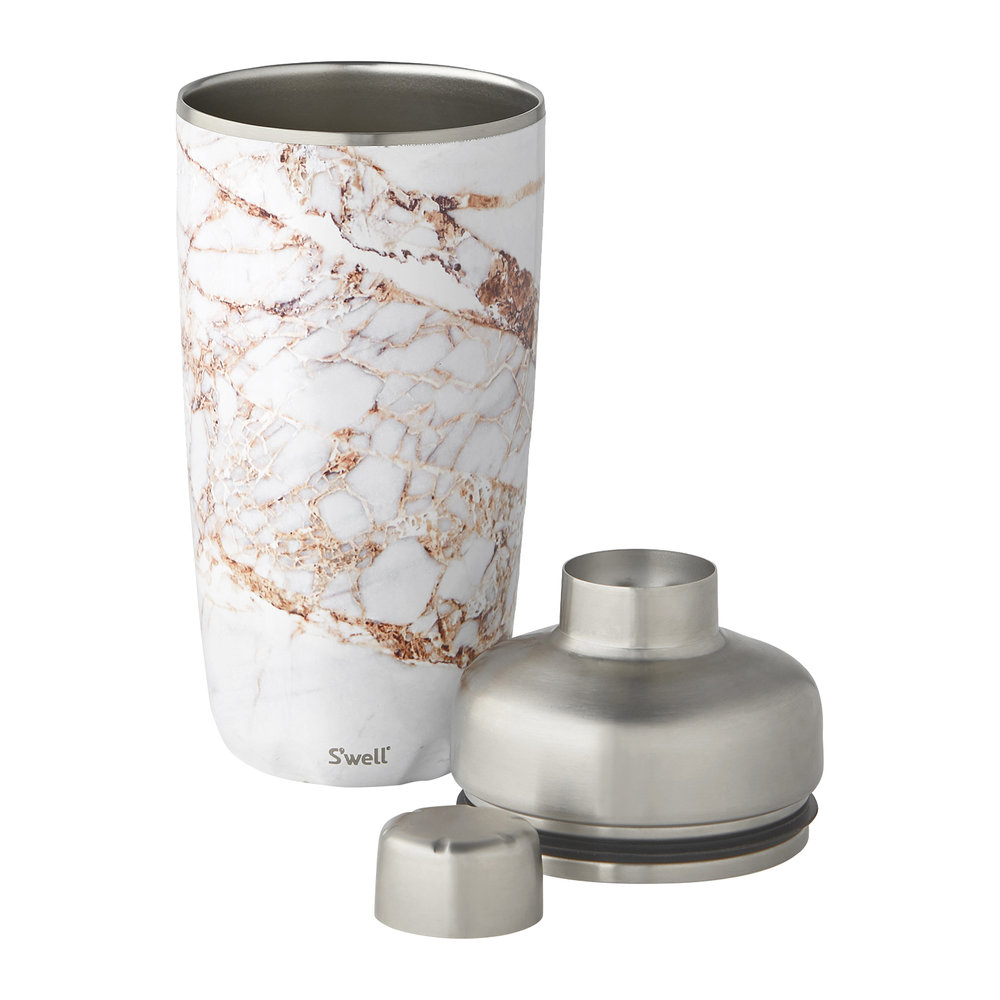 S'well - Cocktail-Shaker-Set - Calcatta Gold