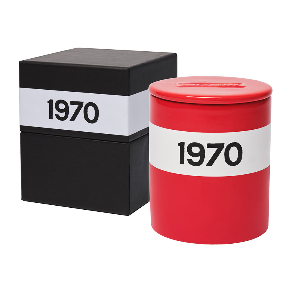 Bella Freud - 1970 Candle - Large - Red