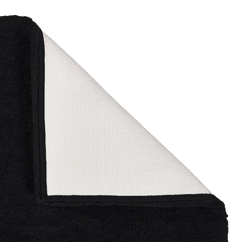 Aquanova - Mauro Bath Mat - Black - 60x60cm