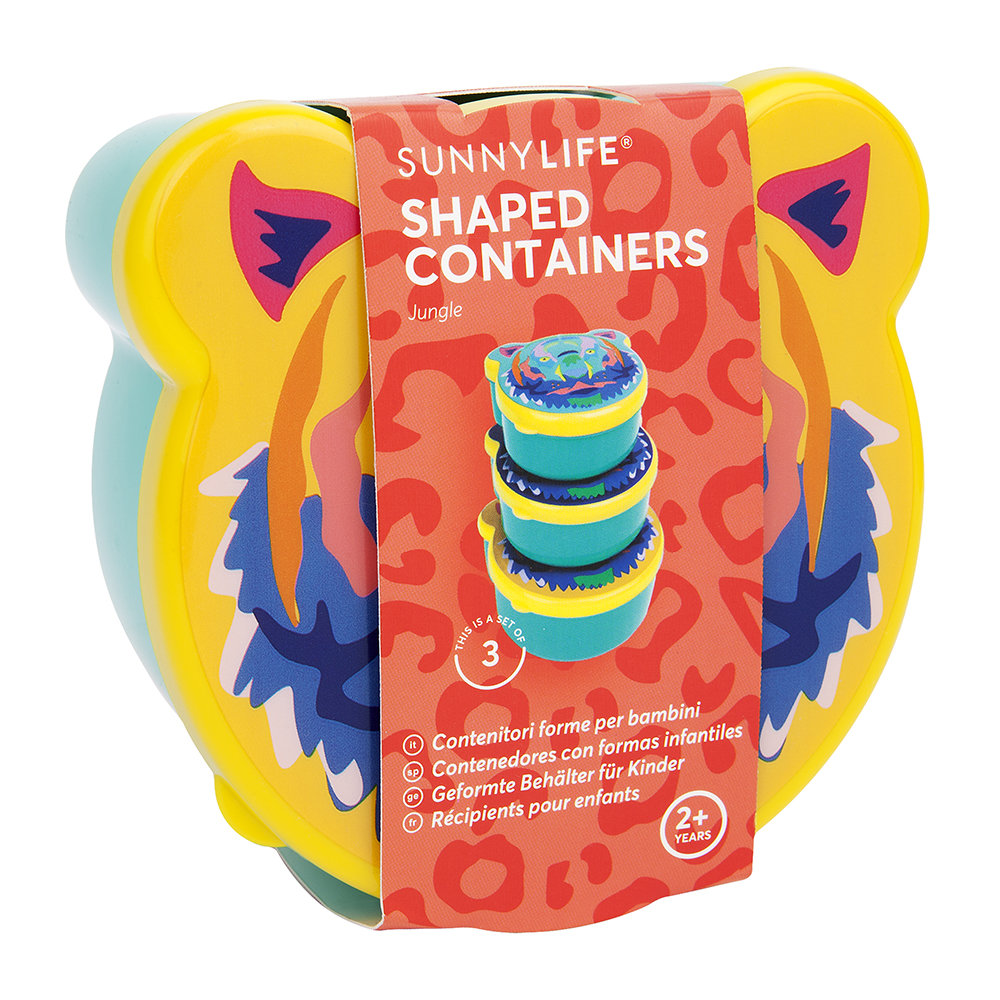 Sunnylife - Children's Jungle Shaped Containers