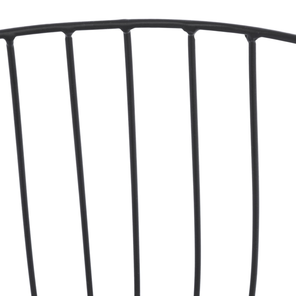 A by AMARA - Black Wire Baskets - Set of 3