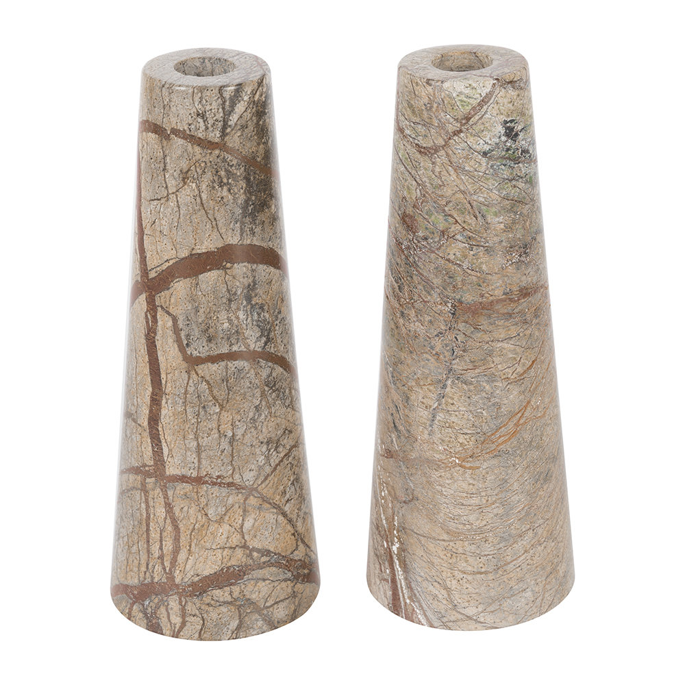 Retreat - Forest Marble Candlestick