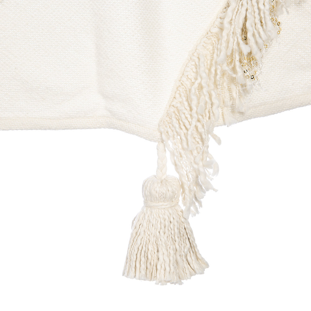 Anthropologie Home - Bay Throw - Ivory