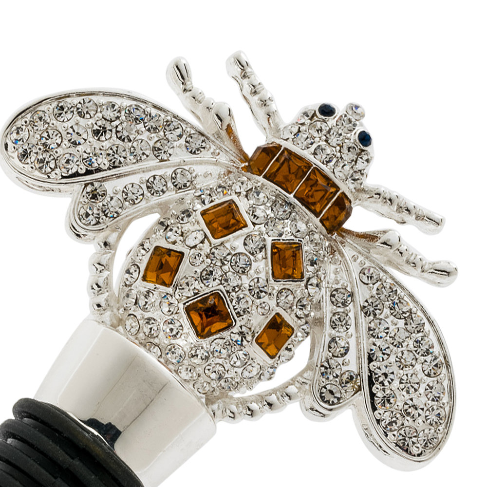 Joanna Buchanan - Amber Bee Wine Stopper