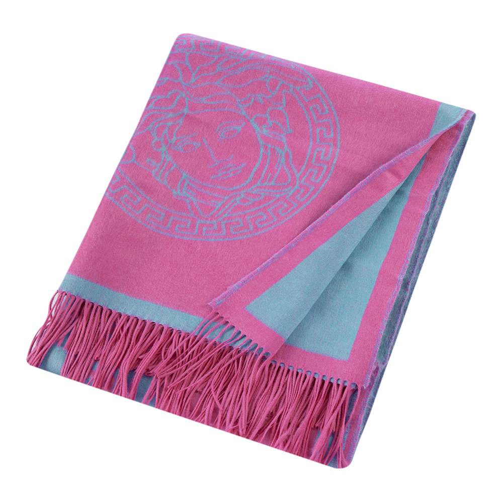 Versace Home - Throw - Pink/Turquoise