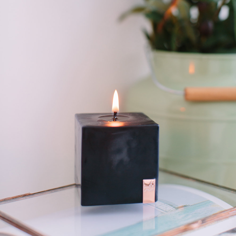 Lava Moments - Stormy Desert Pillar Candle - Small