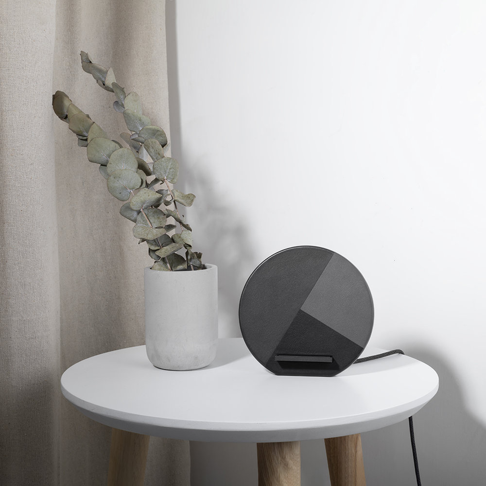 Native Union - Dock Marquetry Wireless Charger - Slate