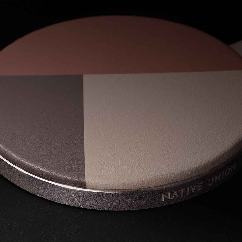 Native Union - Drop V2 Wireless Charging Pad - Rose