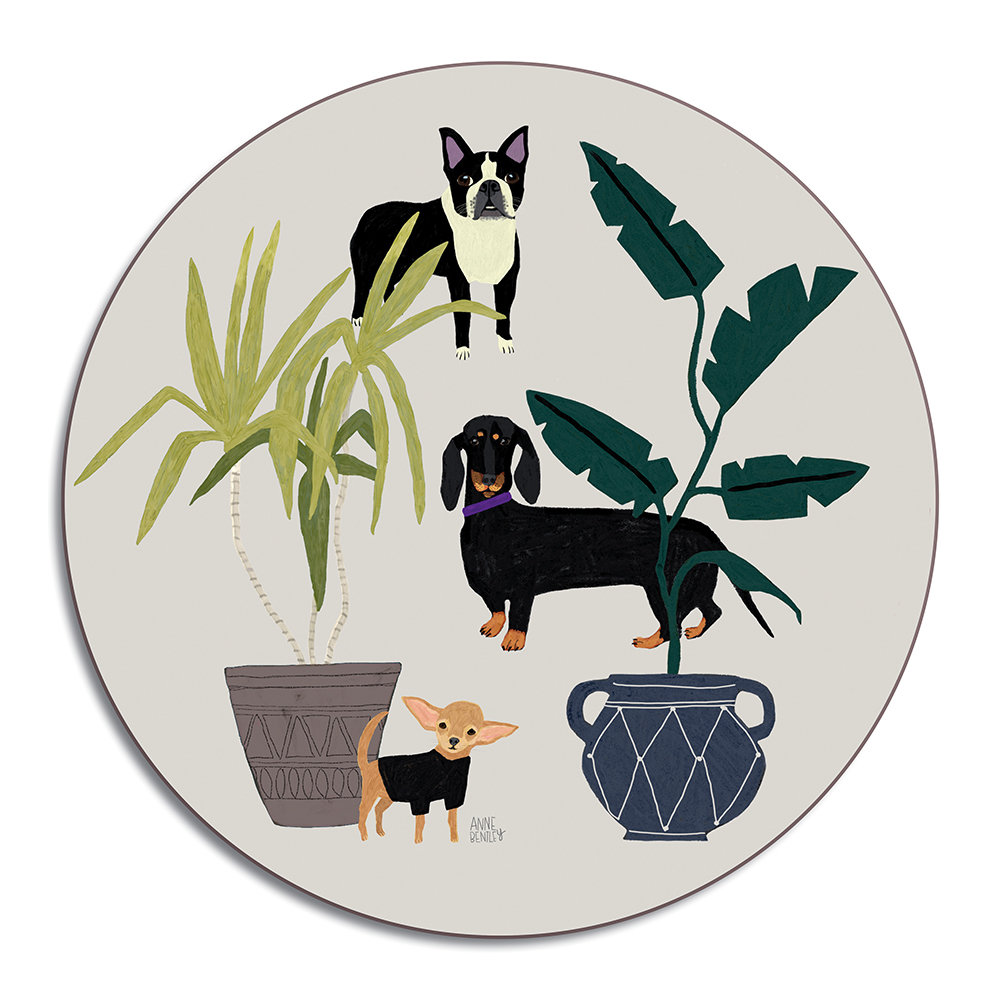 Avenida Home - Anne Bentley Placemat - Dogs