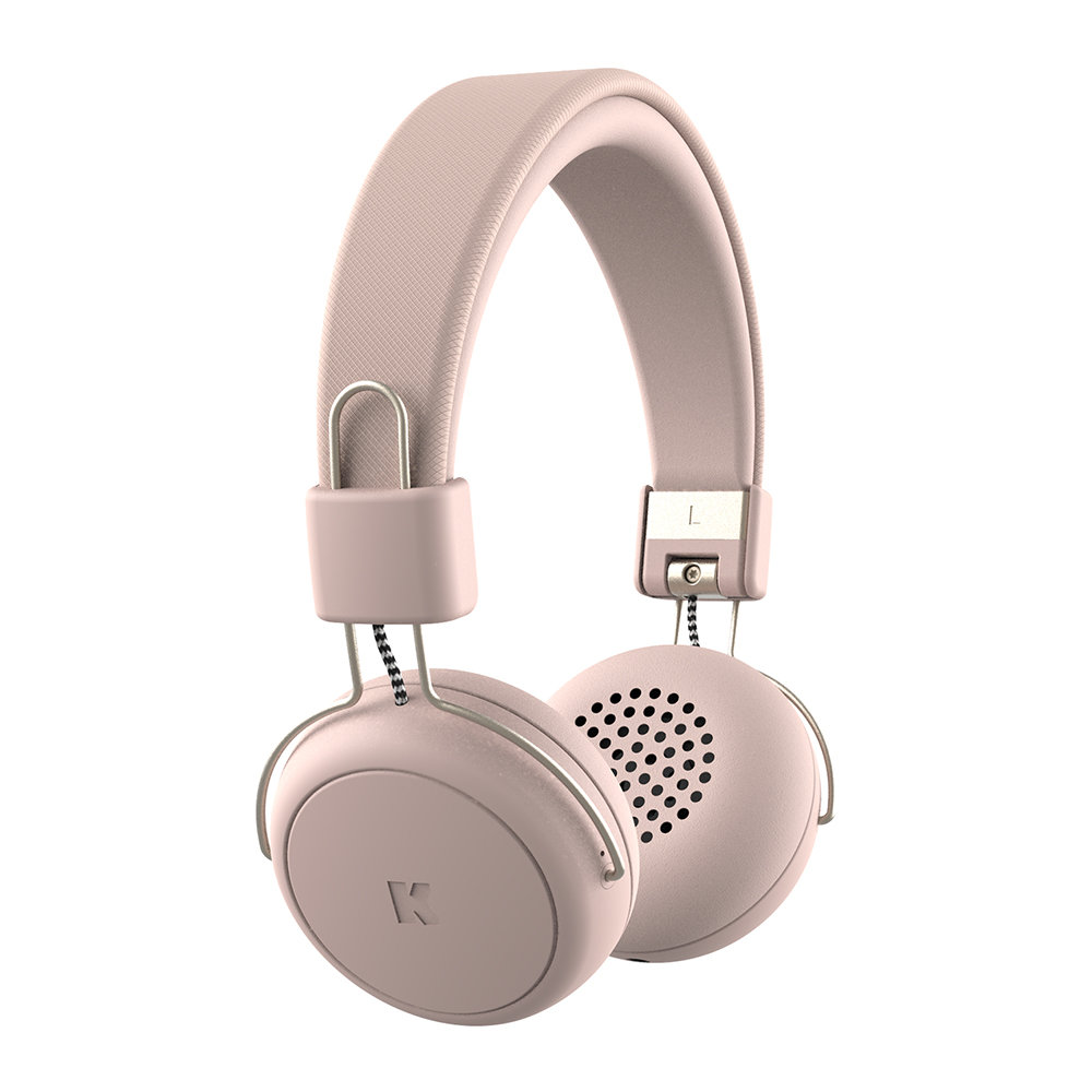 KREAFUNK - aWear Wireless Headphones - Dusty Pink