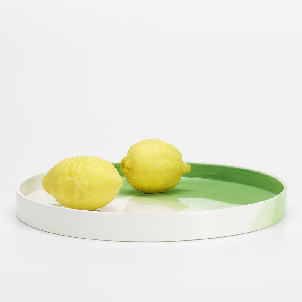 Vitra - Herringbone Tray - Green