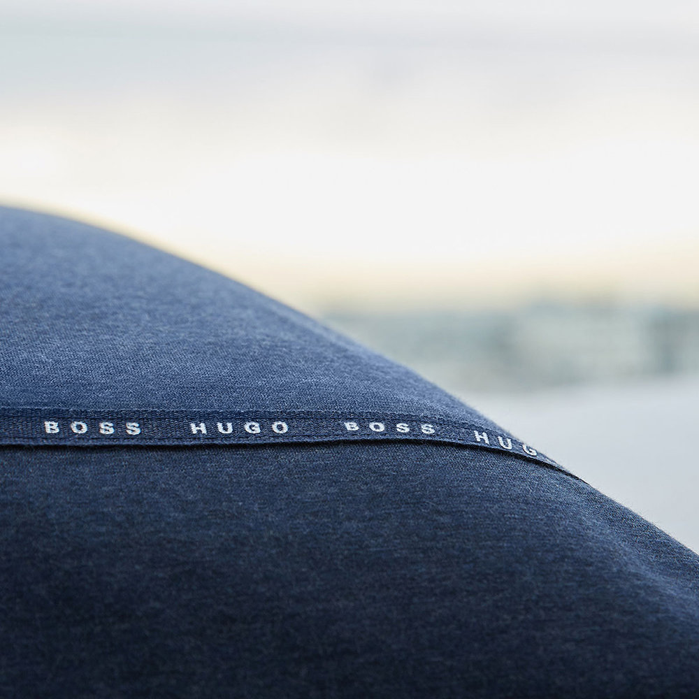 Hugo Boss - Boss Sense Bettbezug – Marineblau - King