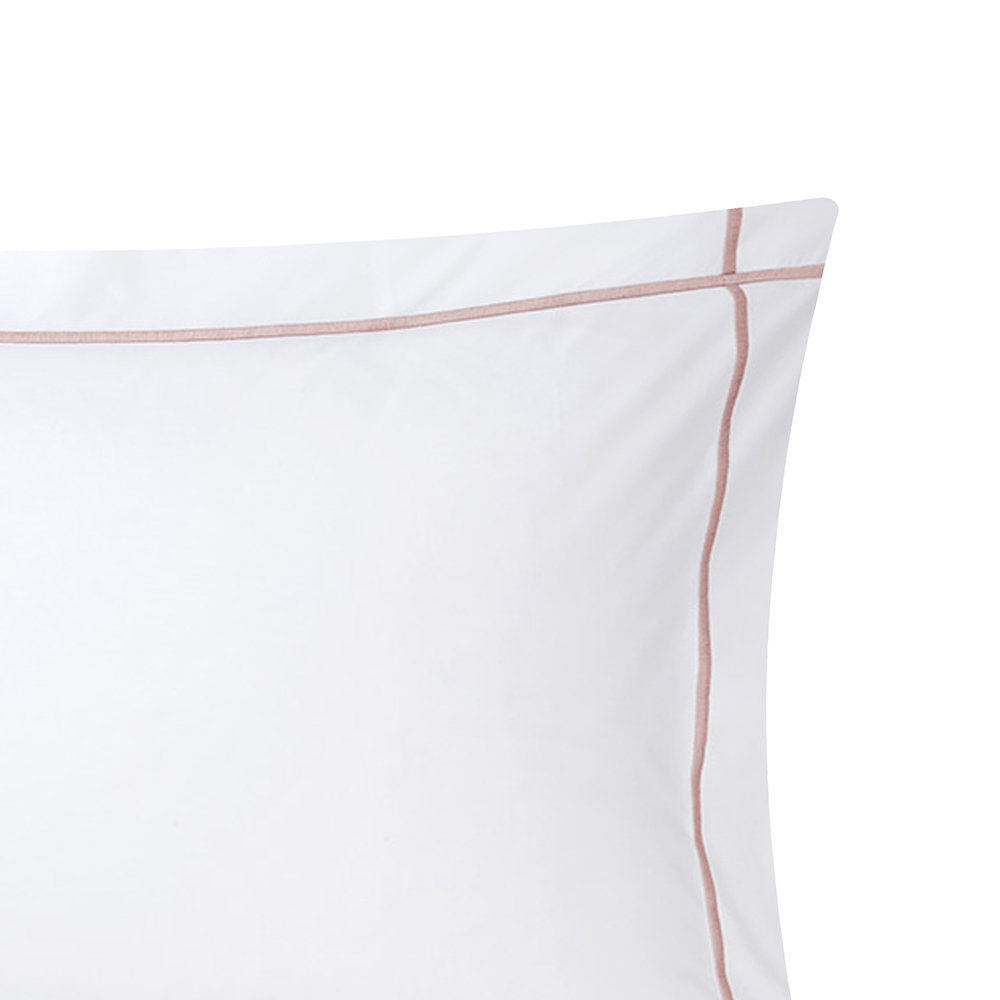 Yves Delorme - Athena Pillowcase - Tea - 50x75cm