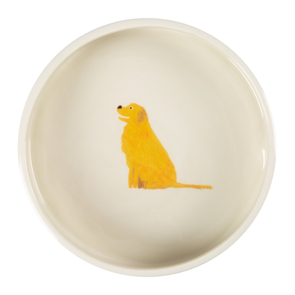 Fenella Smith - Golden Retriever Dog Bowl