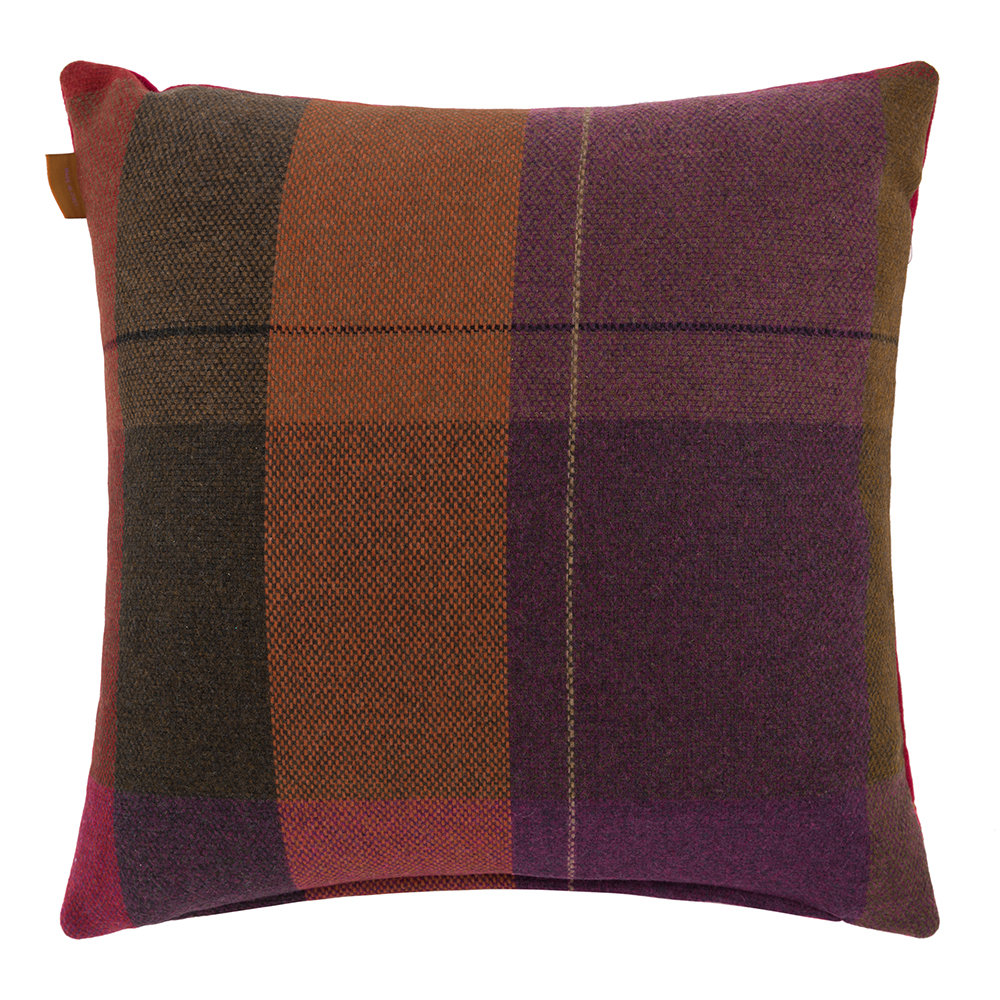 Etro - Coussin Brodé Juzcar Andalusia - 45x45cm - Rouge