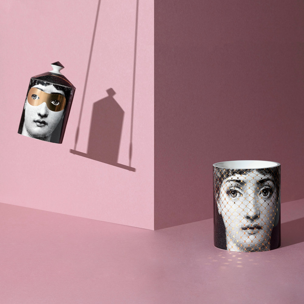 Fornasetti - Golden Burlesque Scented Candle - 1.9kg